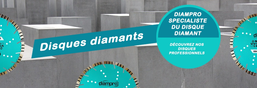 Les disques diamants Diampro. Crédits : ©diampro.com 2011-2017